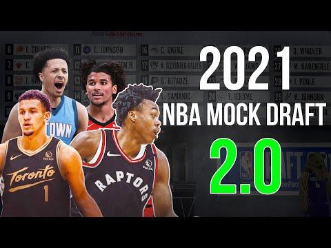 2021 NBA Mock Draft 2.0! | Draft Day