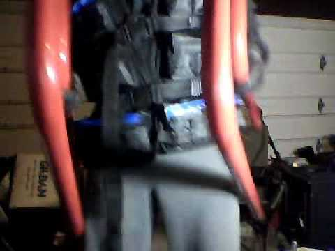 Epic three minute crotch shot with pump and weighted vests!