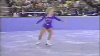 Tonya Harding 1989 US Nationals long program