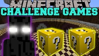 Minecraft: ENDER LORD CHALLENGE GAMES – Lucky Block Mod – Modded Mini-Game