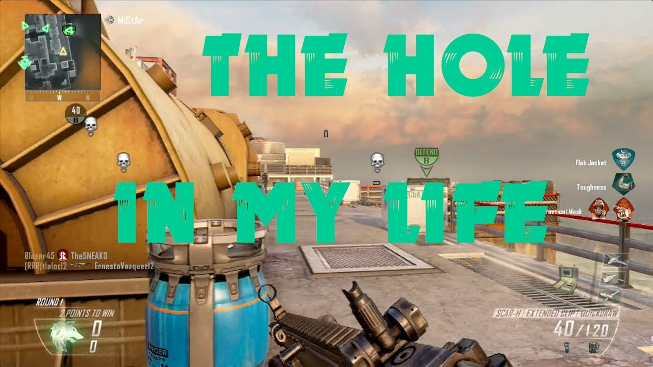 The Hole in My Life - Black Ops 2 - YouTube