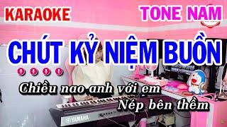 Karaoke Chút Kỷ Niệm Buồn Tone Nam Nhạc Sống Dễ Ca | Mai Thảo Organ