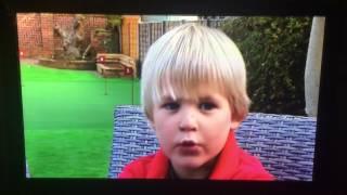 5 year old golf story on ITV News - Zach Wheeler
