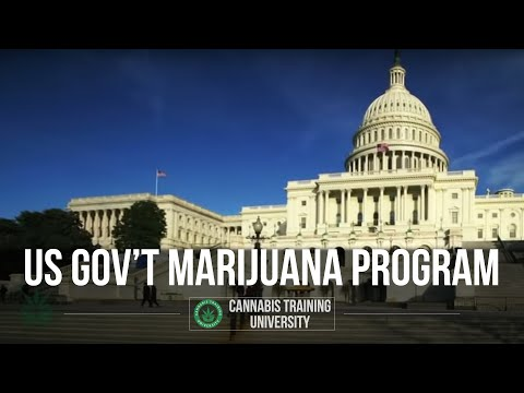 TOP SECRET! U.S GOVERNMENT MARIJUANA PROGRAM!