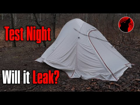 Leaking? NatureHike Cloud Up 2 with Snow Skirt - 4 Season Tent - Test Night