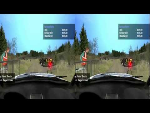 Richard Burns Rally 3D HD gameplay (yt3d enabled)