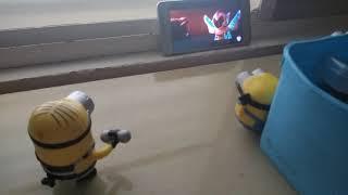 Os Minions Assistindo O Teaser Trailer De Uma Aventura LEGO 2!
