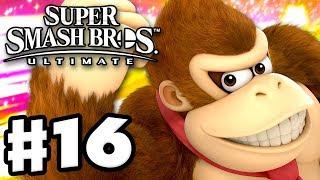 Donkey Kong! - Super Smash Bros Ultimate - Gameplay Walkthrough Part 16 (Nintendo Switch)