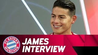 """""""The right decision!""""🎙 - James Rodríguez on his first months at FC Bayern"""