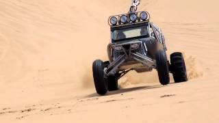 Supercharged Tatum Sand Car on Wall 5 in Glamis California