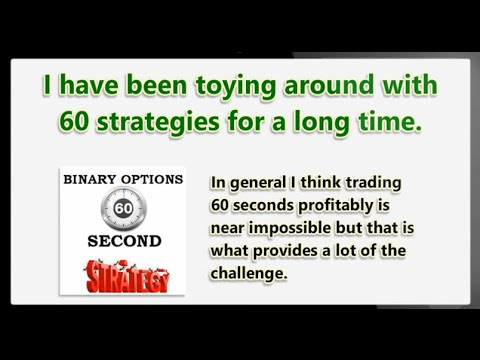 Simple 60 second binary options strategy