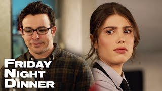 Adam In Love With The Waitress | Friday Night Dinner