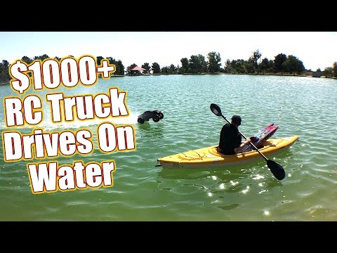 Insane RC Truck Drives On Water! - Lost 2017 Video Found + Traxxas X-Maxx Project Teaser | RC Driver