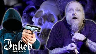 I Attacked a Group of Thieves with a Pitchfork: Story Time with a Tattoo Artist | INKED