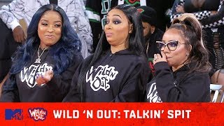 DC Young Fly Gets In Nick Head 😂 w/ Toya Wright, Tiny Harris, & Monica Brown | Wild' N Out