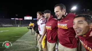 Sights and Sounds: The Rose Bowl - USC vs. Penn State