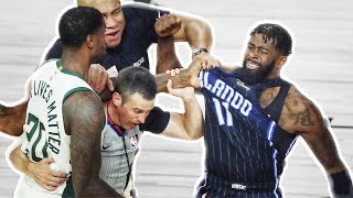 NBA Bubble Fights Compilation
