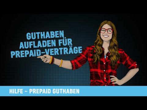 Hilfe-Video: Guthaben aufladen für Prepaid-Verträge