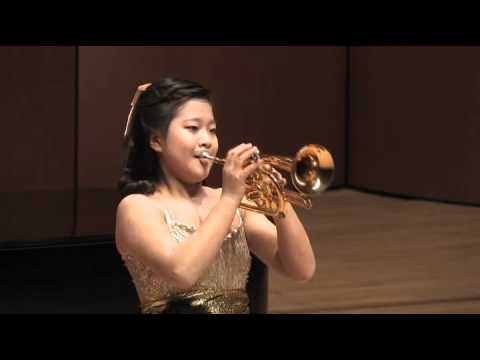 Aranjuez Concerto 2nd Mov for trumpet - Korean girl trumpeter(Go-eun Park, 13 years old)