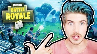 PLAYING FORTNITE FOR THE FIRST TIME!