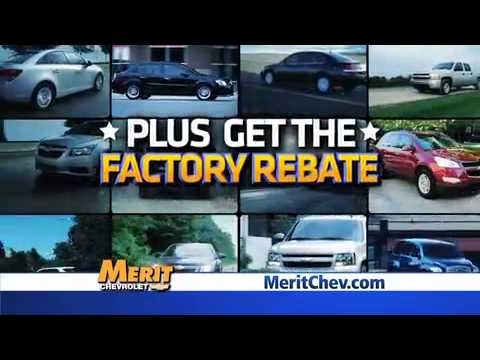 Auto Show Month Specials at Merit Chevrolet