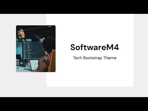 Mobirise Software Website theme   SoftwareM4