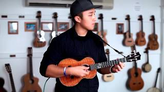 "Kris Fuchigami - ""Can't Take My Eyes Off You""- Ukulele Instrumental"