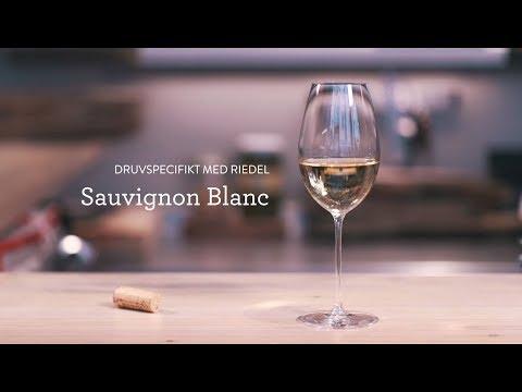 Druvspecifikt med Riedel - Sauvignon Blanc