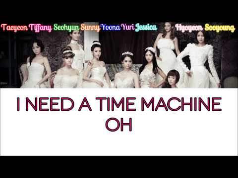 Girls' Generation – Time Machine Color Coded Lyrics [Rom/Eng/Kan] 1080p