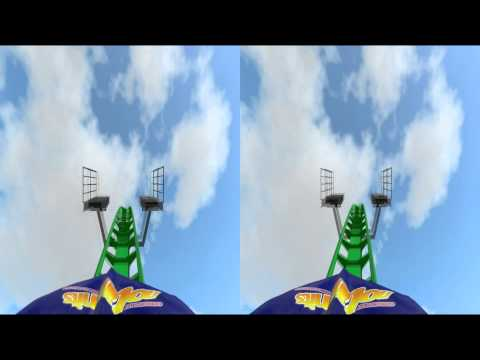 3D Rollercoaster: Octane (3D for PC/3D phones/3D TVs/Crossed Eyes)