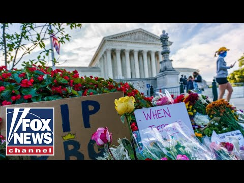 Live: Mourners gather to remember Ruth Bader Ginsburg outside of Supreme Court