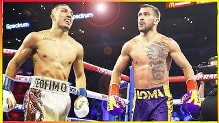Vasyl Lomachenko vs Teofimo Lopez PRE- FIGHT TALE