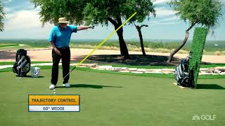 Dave Pelz's Wedge Selection Trajectory Control Tips | Golf Channel