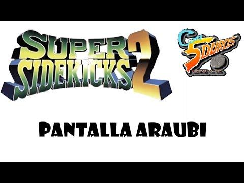 DIRECTO: SUPER SIDEKICKS 2 x 2 (ROBOS EN DIRECTO A DOBLE PANTALLA CON ARAUBI) - Rubén (Araubi)