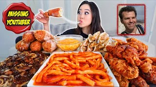 Most Popular KOREAN FOOD (Cheese Corndogs + Spicy Rice Cakes + Black Bean Noodles) MUKBANG