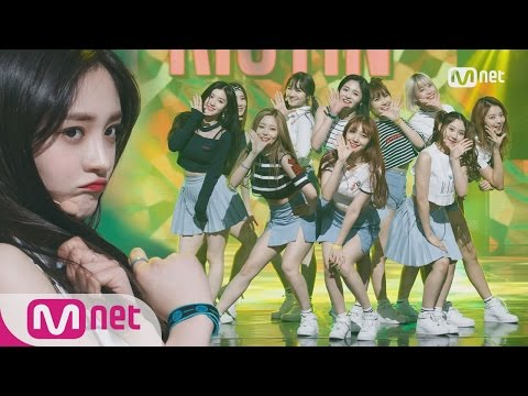 [PRISTIN - WEE WOO] KPOP TV Show | M COUNTDOWN 170427 EP.521