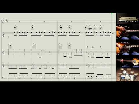 Band Score : Please Please Me - The Beatles