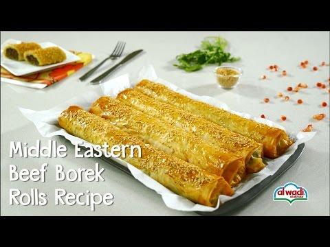 Middle Eastern Beef Borek Rolls Recipe