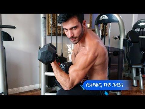 Running The Rack Biceps Curls