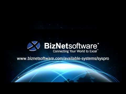 BizInsight for SYSPRO 2016