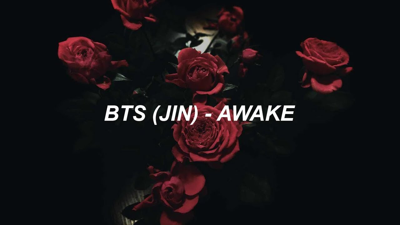 BTS (방탄소년단) JIN 'AWAKE' Easy Lyrics