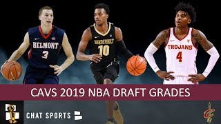 Cavs Draft Grades From The 2019 NBA Draft On Darius Garland, Dylan Windler And Kevin Porter