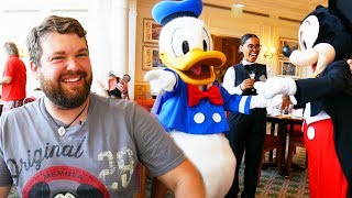 Mickey and Donald were SHOCKED!!! - Disneyland Paris Impressions