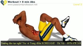 Hướng dẫn tập cơ bụng 6 múi tại nhà   Tự tập gym ở nhà