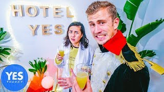 Turning our House into a Fake Hotel in 72hrs…(ft. Elle Mills)
