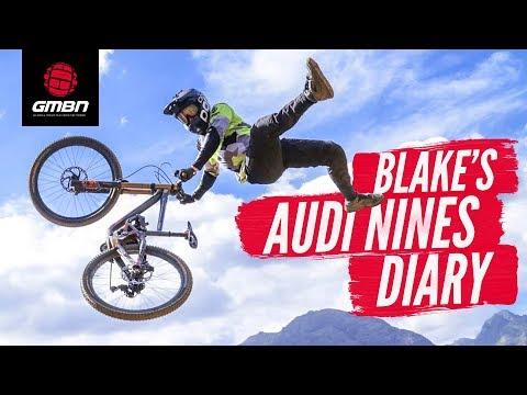 Blake's Pro Diary   Riding The Audi Nines