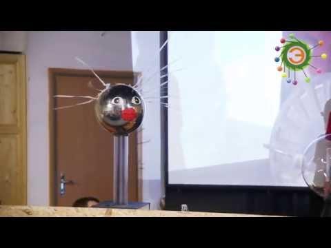 """Ш.О.У. - Тесла в музее """"Экспериментаниум"""""""