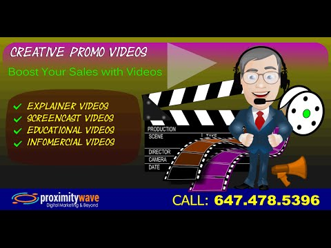 Affordable Promo Video Creation Services or Business