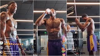 Dwight Howard has intense workout with his new Lakers trainer