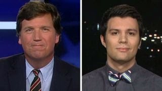 Tucker v student who says Trump shouldn't be given chance